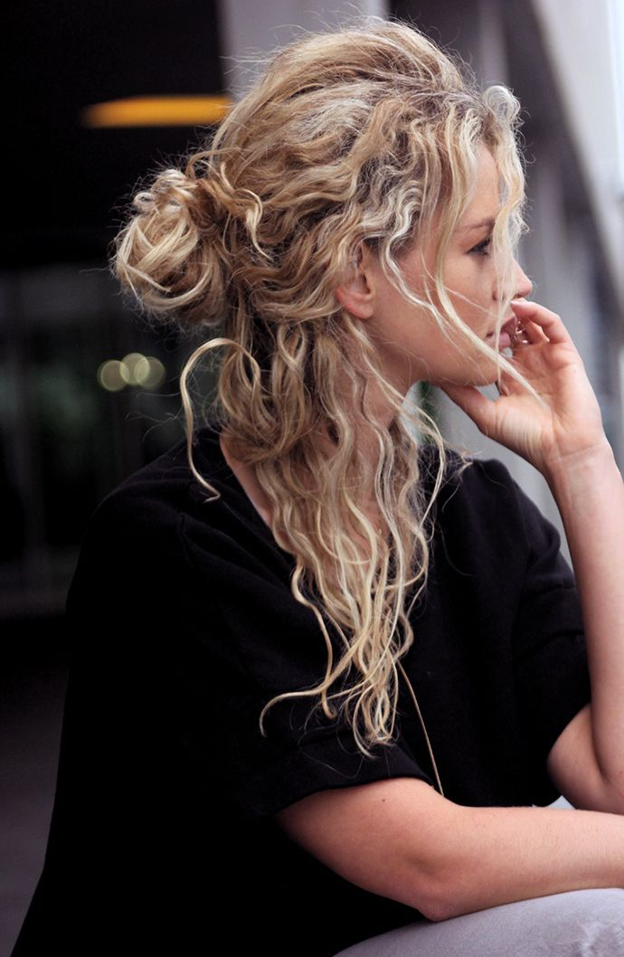 wow those curls