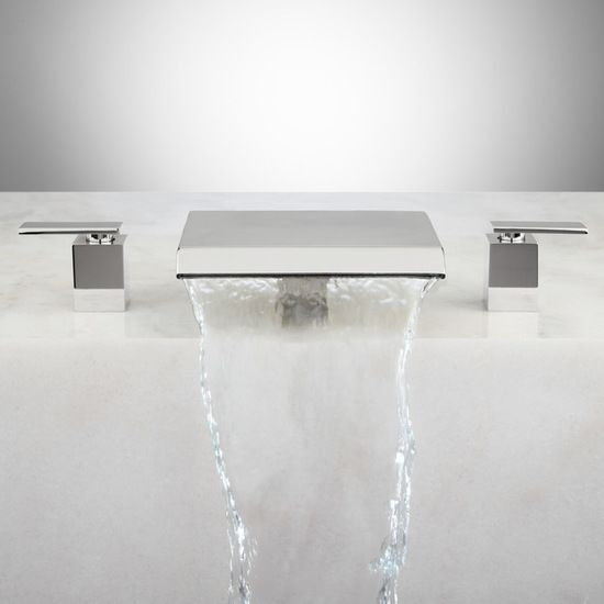 LAVELLE WATERFALL ROMAN TUB FAUCET - Bathroom Sink And Faucet Parts