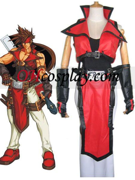 Guilty Gear Sol Badguy Cosplay Costume  sc 1 st  Pinterest : guilty halloween costume  - Germanpascual.Com