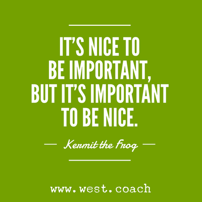 Inspiration Eileen West Life Coach Its Nice To Be Important