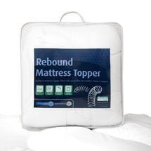 Rebound Mattress Topper 29 99 Dunelm Mattress Topper Mattress Rebounding