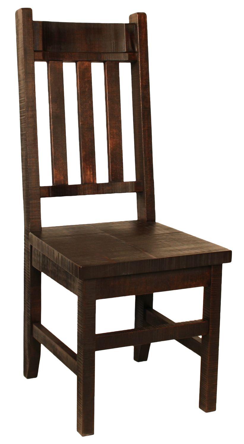 R750b Slat Back Chair Solidwood Albertamade Handmade Canada