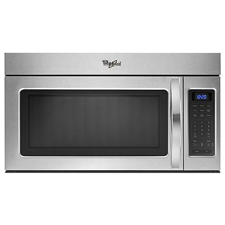 Whirlpool Wmh31017as 30 In Over The Range Microwave W 2
