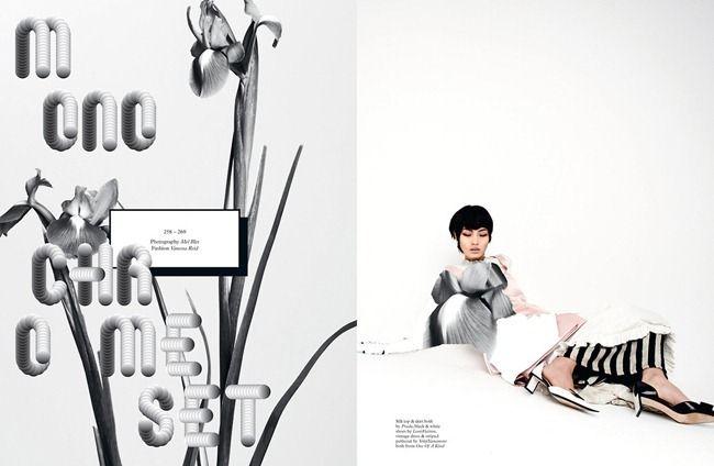 POP MAGAZINE- Chiraru in Monochrome Set by Mel Bles. Vanessa Reid, Spring 2013, www.imageamplified.com, Image Amplified (1)