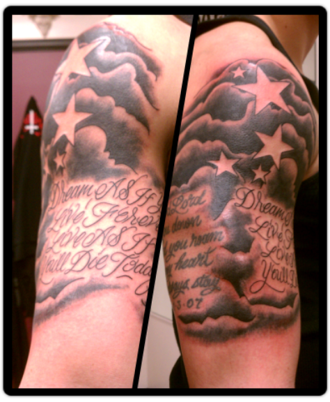 cloud tattoo | Tumblr | Tattoo designs men, Cloud tattoo ...