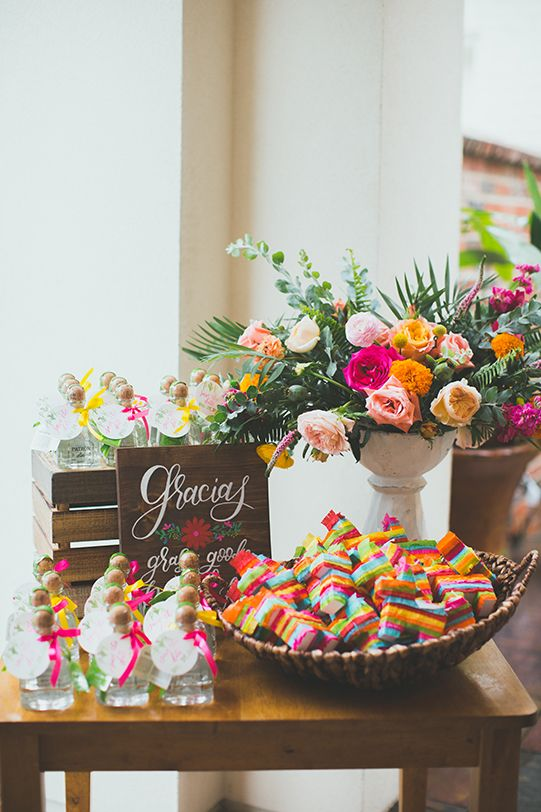 Mexican wedding themed party