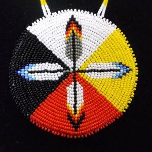 Made by Native American Artisans #nativeamericanbeadworkpatters