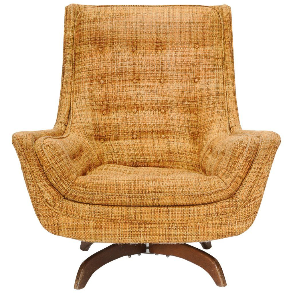 Attractive Adrian Pearsall Rocking Club Chair   $1950 From A Unique Collection Of  Antique And Modern Rocking