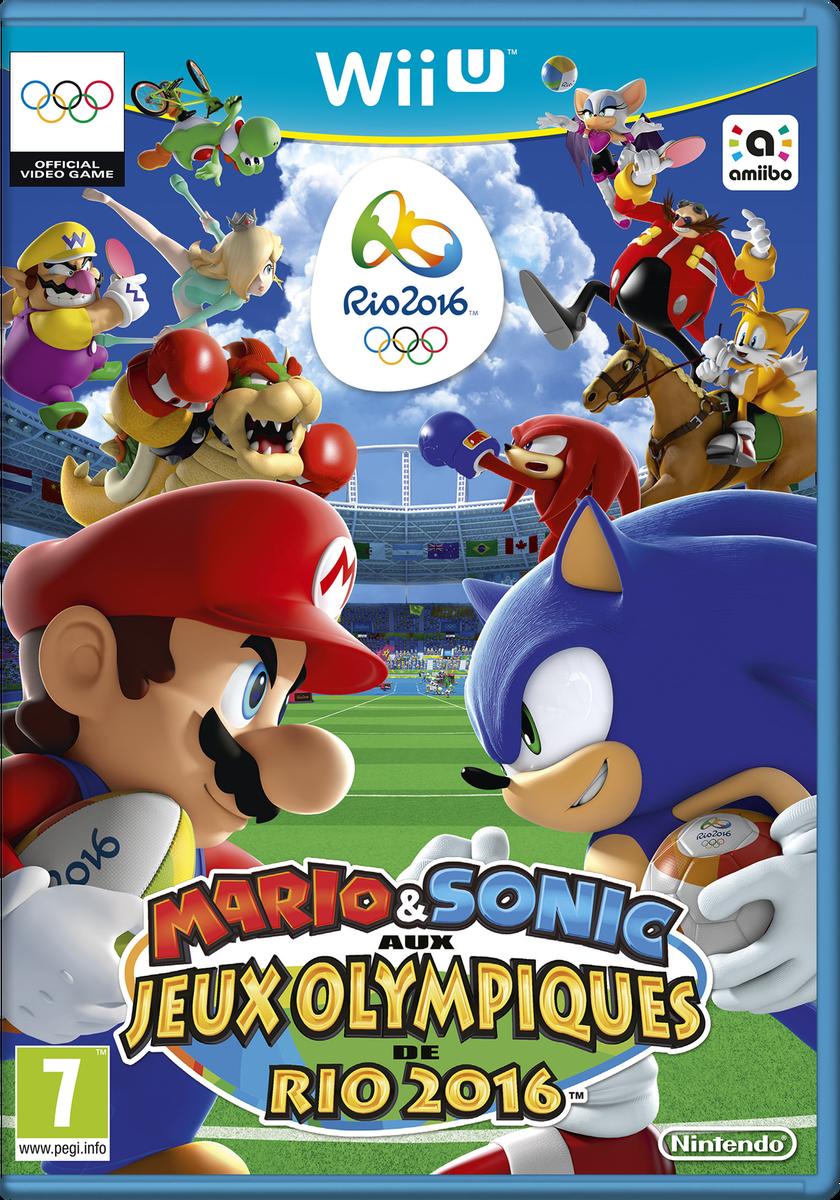 """Mario & Sonic aux Jeux Olympiques de Rio 2016 les """"Dieux"""""""