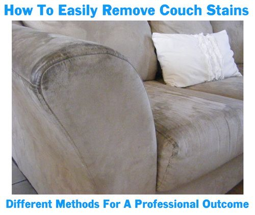 How To Clean Couch Cushions That Cannot Be Removed Easy Diy Clean Couch Couch Cushions Remove Stains From Couch