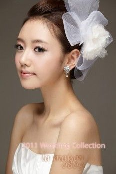 Korean Inspired Bridal Look ~ By: Beautiful Bridal