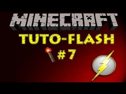 Minecraft Zaragoza - Tutorial Redstone Flash #7 - Portal al Nether automático