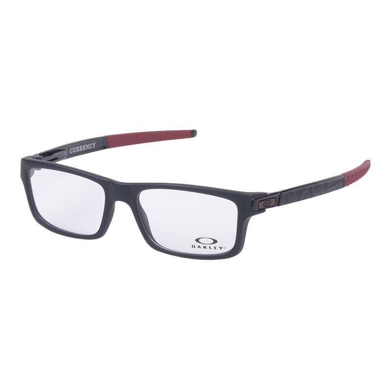 fe7a06f025 Eyeglass Frames-Oakley CURRENCY OX8026-1254 Black Vintage Glasses Eyewear  Specs  fashion  health  beauty  visioncare  eyeglassframes (ebay link)