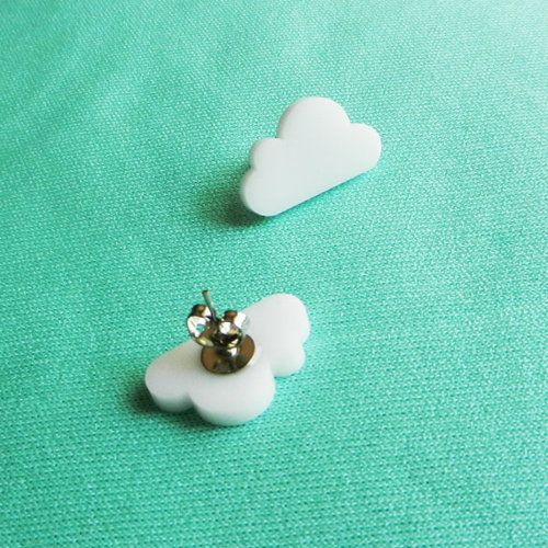 Super Mario Bros Earrings by Jessie Hunter ($10)