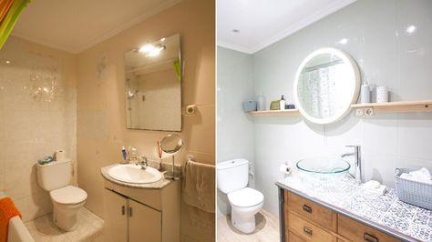 Renovar el aspecto del baño - General Pintar azulejos para renovar ...