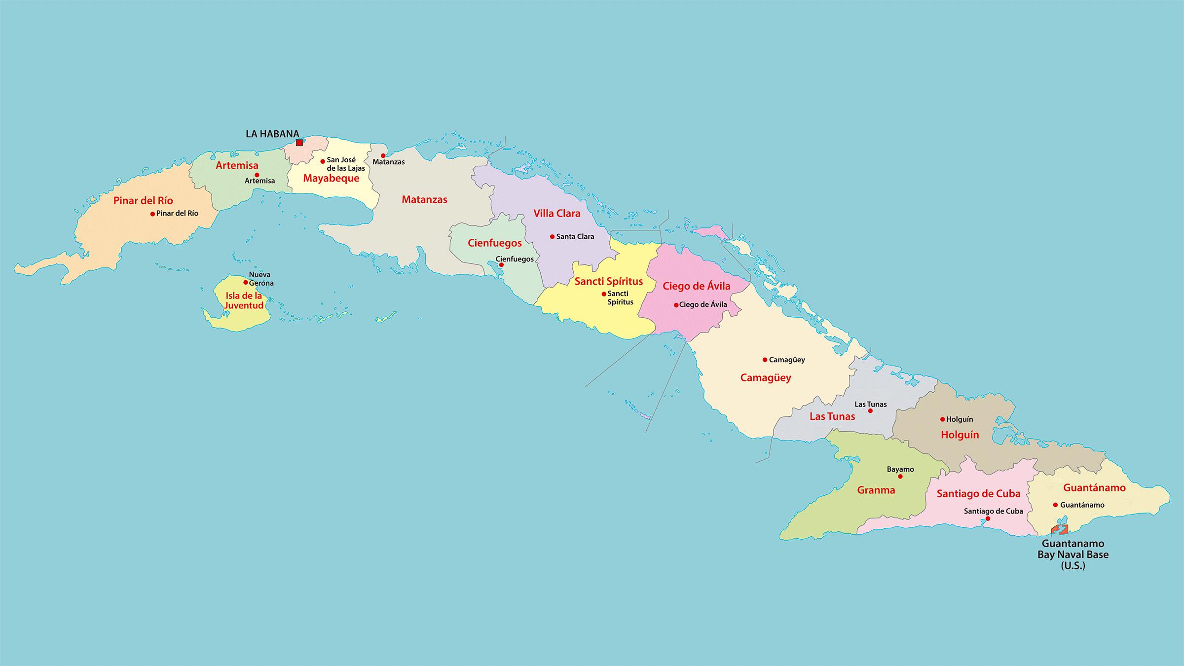 Cuba Mapa Del Mundo.Https Www Viajejet Com Wp Content Viajes Mapa Politico De Cuba Jpg Map Vintage Posters Cuba