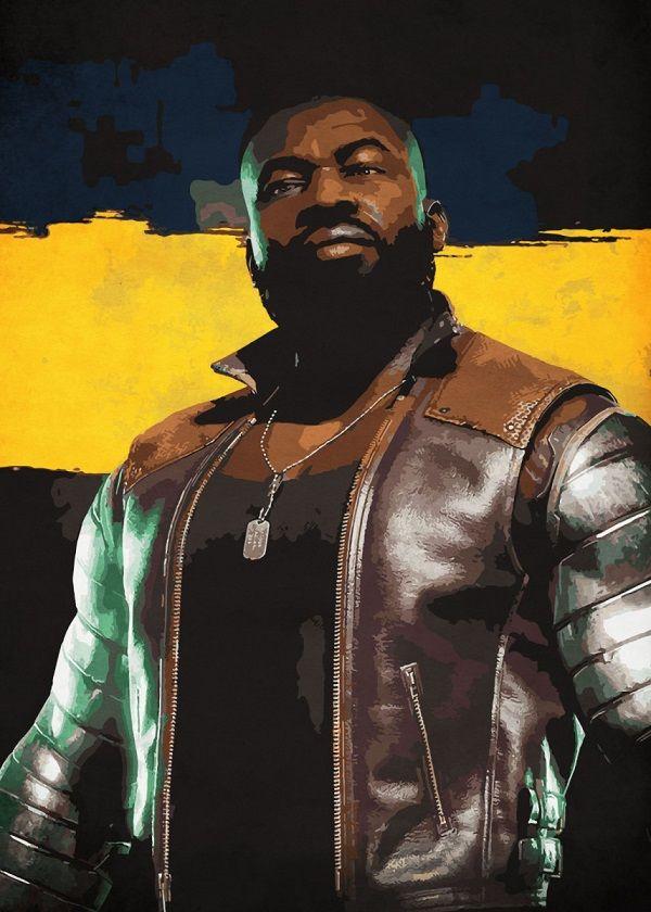 Mortal Kombat Cutout Characters Displate Posters