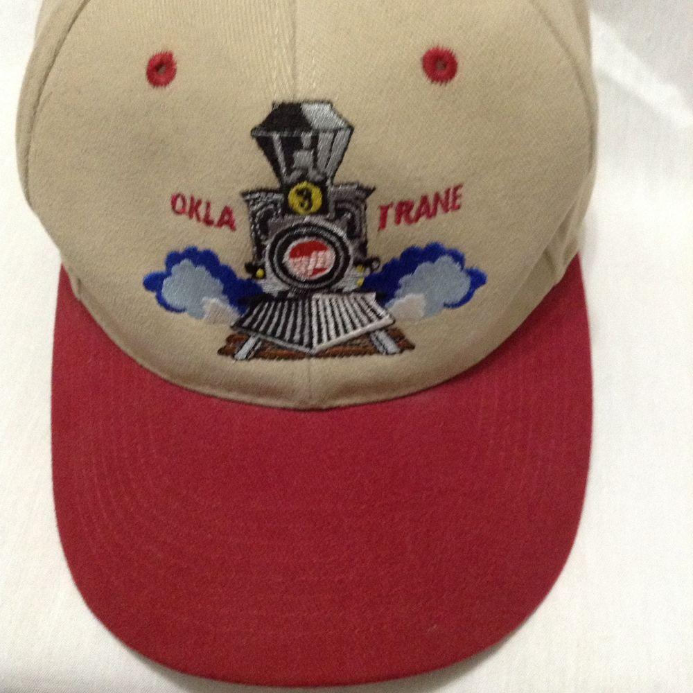 Okla Trane Heating Air Conditioning Train Baseball Cap