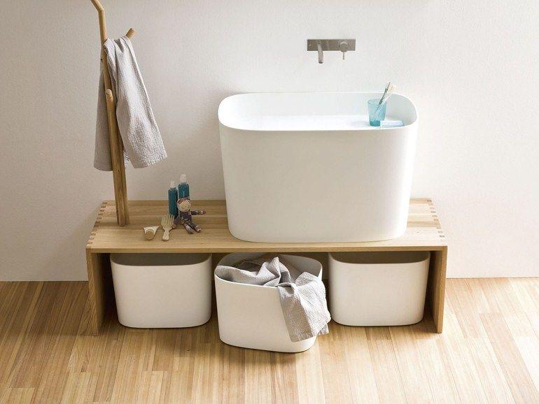 Panca in frassino da bagno fonte panca da bagno by rexa design