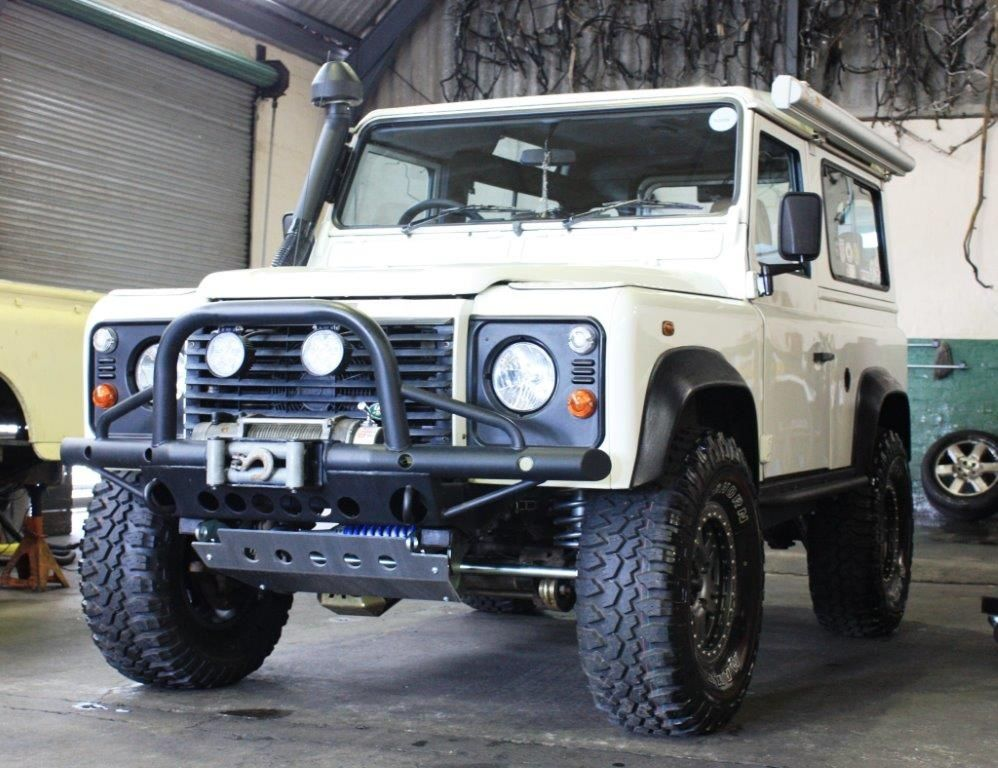 Pieter Bezuidenhout's land Rover Defender 90 from South Africa. My Land Rover has a Soul, MLRHAS, Land Rover Book