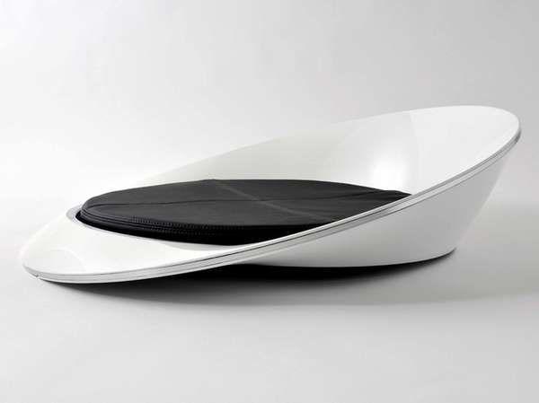 Ono Chair Via Kataokadesign Whitezine Futuristic Furniture Modern Design Sofa