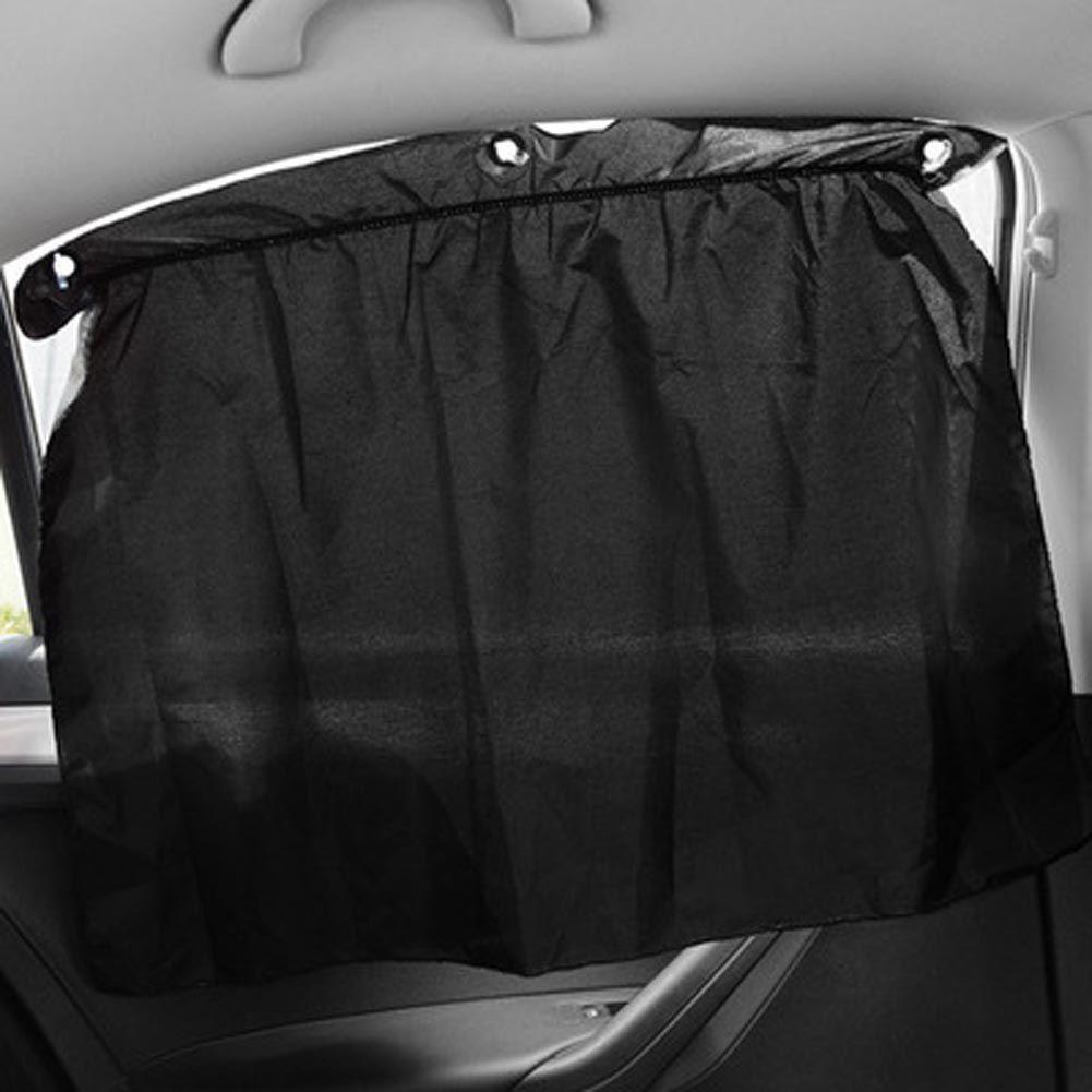 Car window coverings  pieces  lot rear side window curtain car sun block curtains car