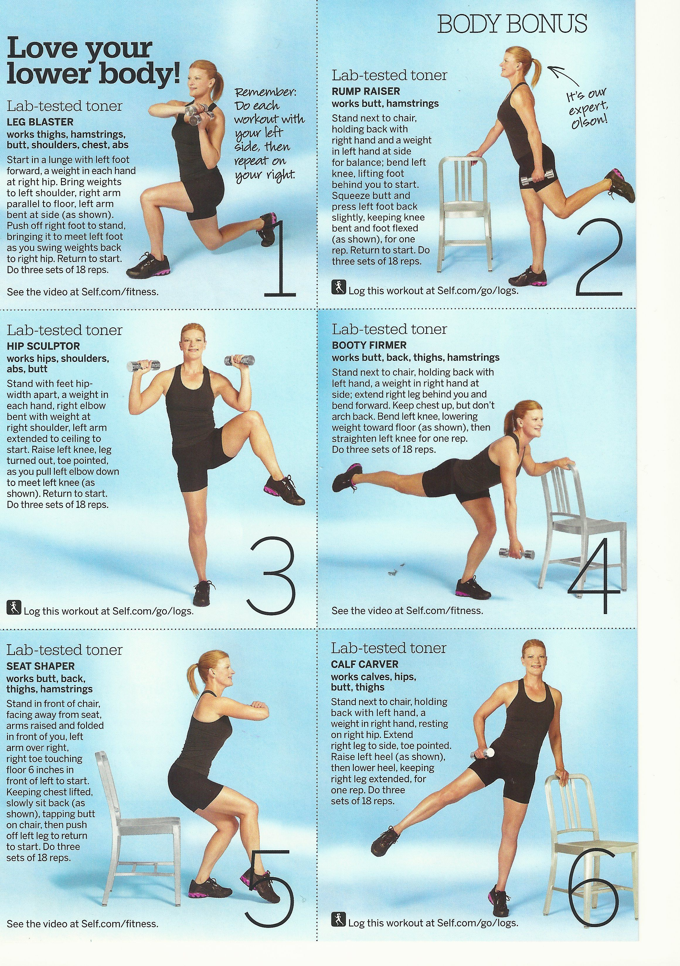 Something To Mix Up The Routine Lower Body Workout Summer Body Workouts Step Workout