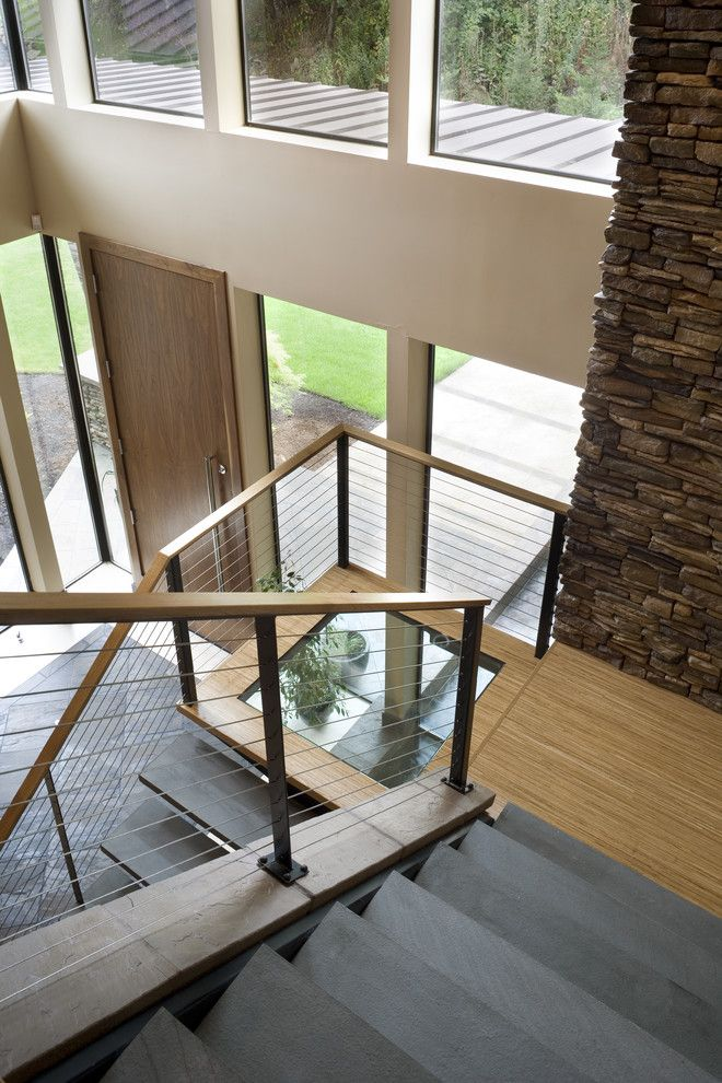 Best For Stairs And Landing Staircase Contemporary With Metal 400 x 300