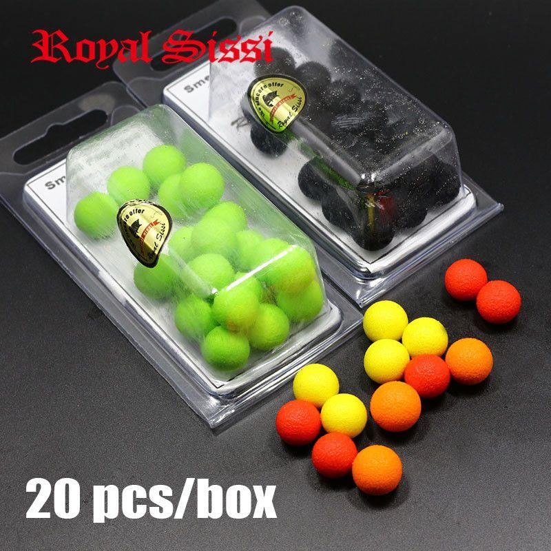Schachtel Popup Boilies Schwimmende Kugel Angeln Köder mit 15 Teile