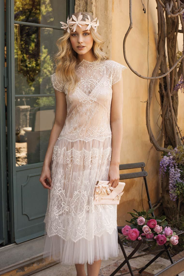 Knee length vintage wedding dresses  Ange  Rembo Styling  The wedding dress of your dreams  noces