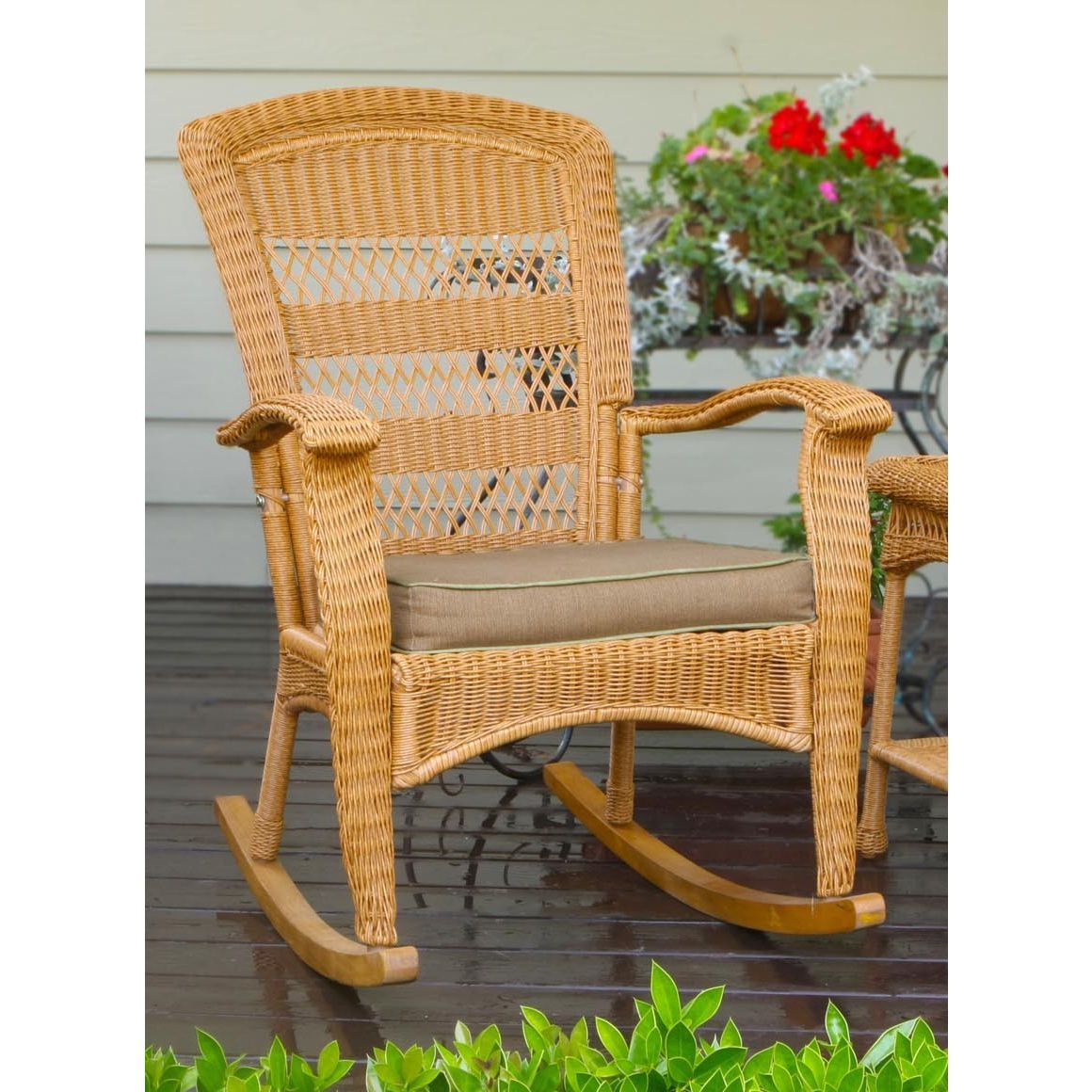 The Portside Plantation Rocking Chair Is The Perfect