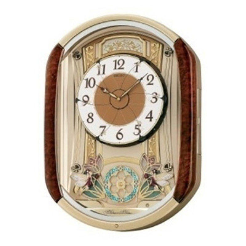 Seiko Dancing Fairies Melodies in Motion Wall Clock - 15.25-in. Wide - QXM275BRH