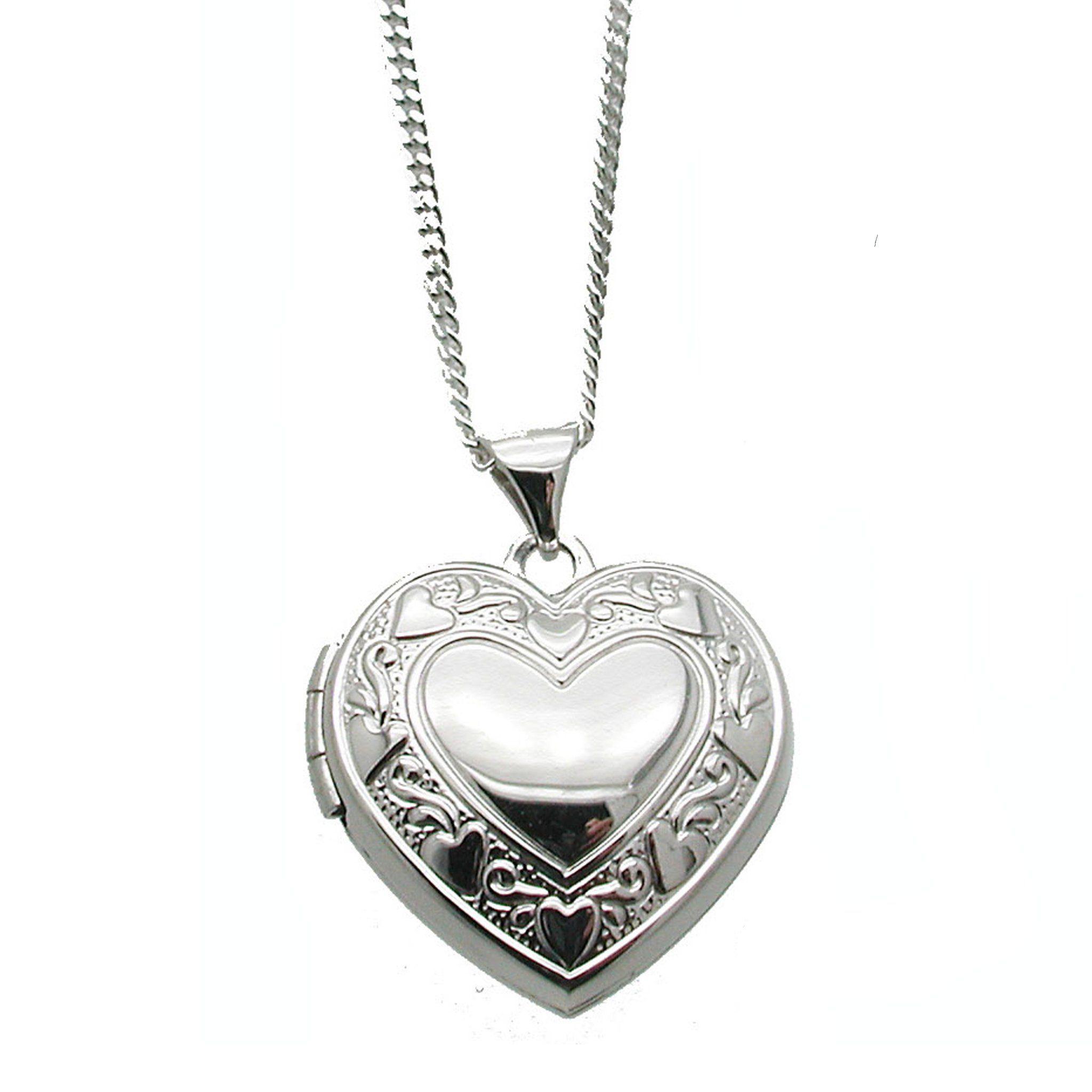 My Sweet Heart Heart locket necklace, Jewelry, Sterling