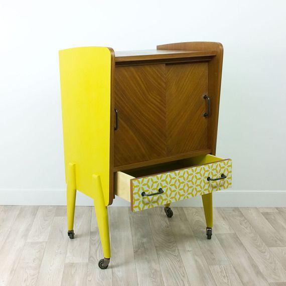 meuble bar vintage relook madeleine d coration. Black Bedroom Furniture Sets. Home Design Ideas