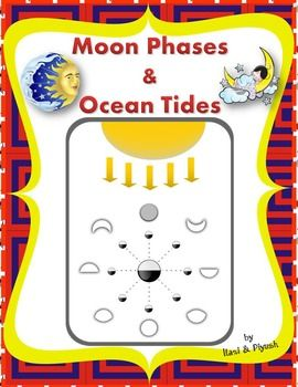 Moon phases and Ocean tides - Unit with worksheets (With ...