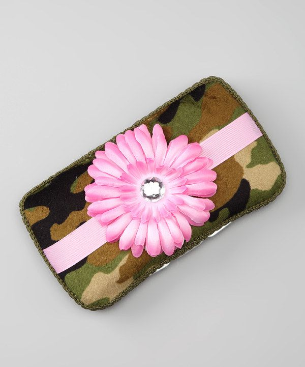 Green & Pink Camo Wipes Case on zulily. I'm hooked to zulily!