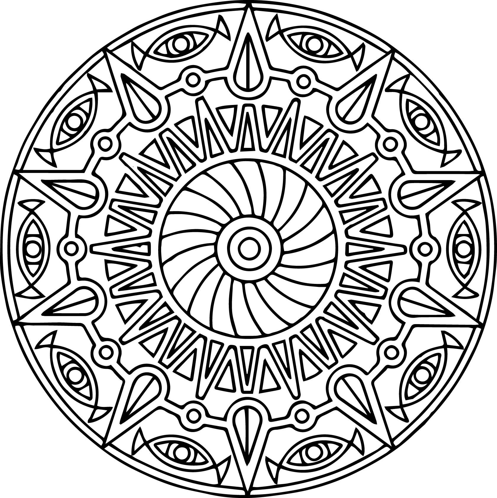 cool mandala coloring pages wecoloringpage pinterest. Black Bedroom Furniture Sets. Home Design Ideas