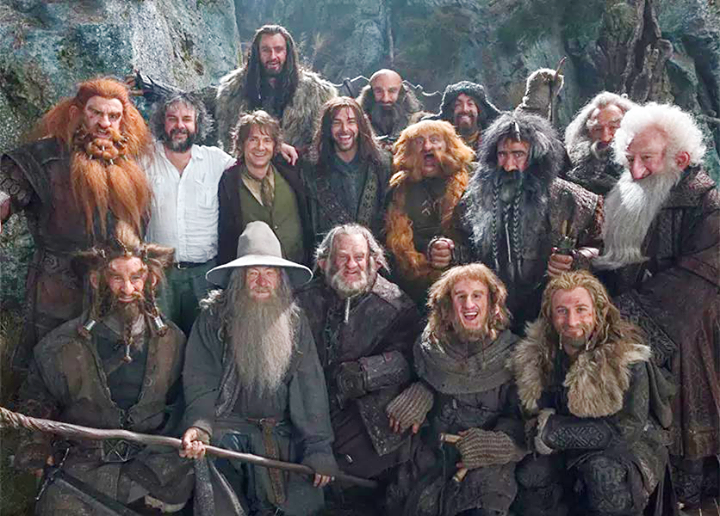The Company of Thorin Oakenshield.