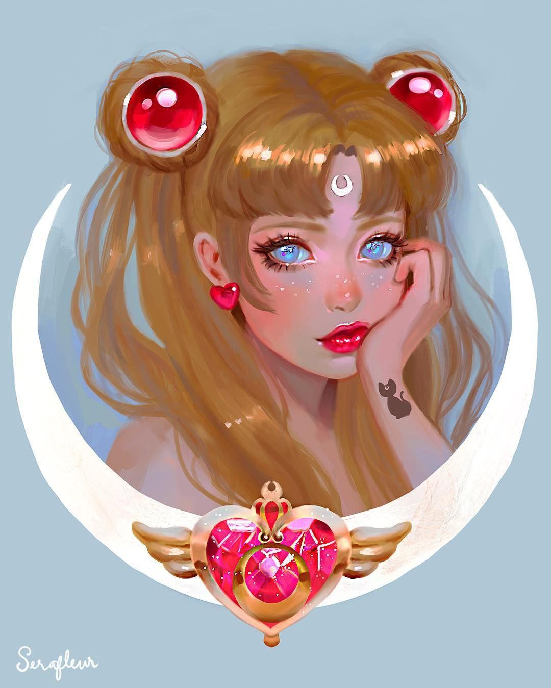 "Abigail Diaz on Instagram ""Tag a Sailor Moon fan! 🌙 More"