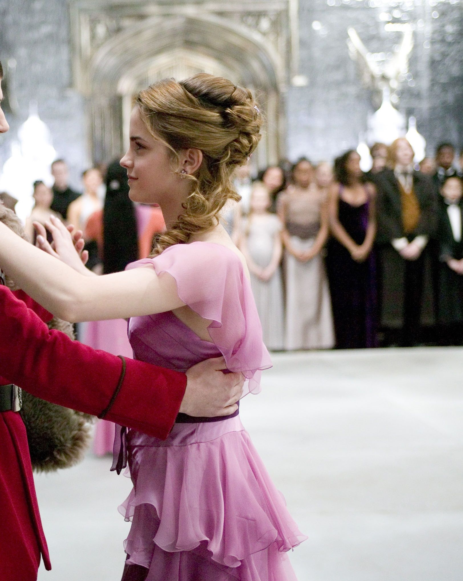 Emma In Harry Potter And The Goblet Of Fire Emma Watson Harry Potter Hermione Granger Hair Harry Potter Characters