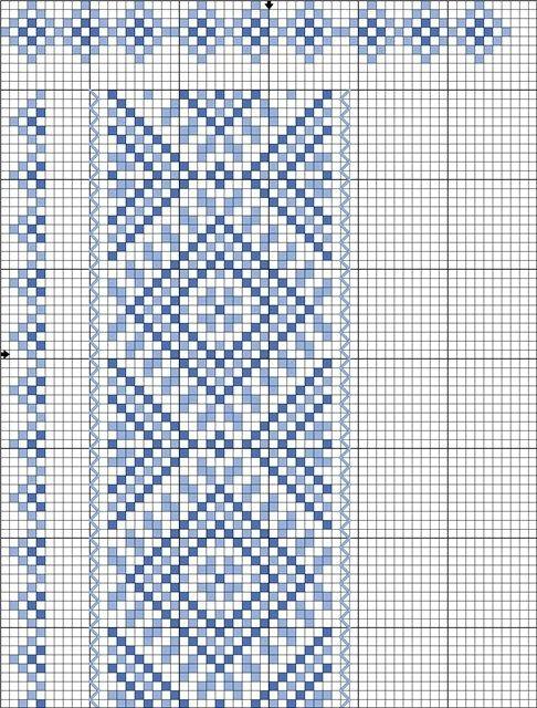 Вышивка схемы галстук