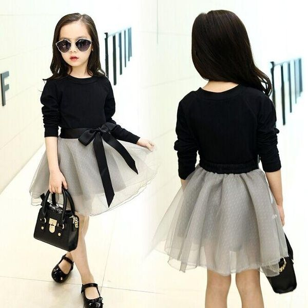 Girls Clothes Sets Kids Tops & Mesh Skirts Suits 3-12 Years Child Outfits Girls Long Sleeve T-shirts Bottoms Princess Dress  | Wish #teenagegirlclothes