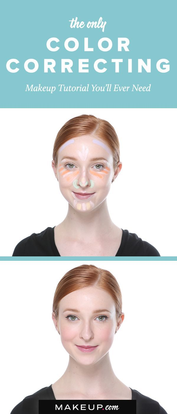 Through Color Correcting Skin Discoloration E G Purple Under Eye Circles Or Redness From Acne Is Neutralized