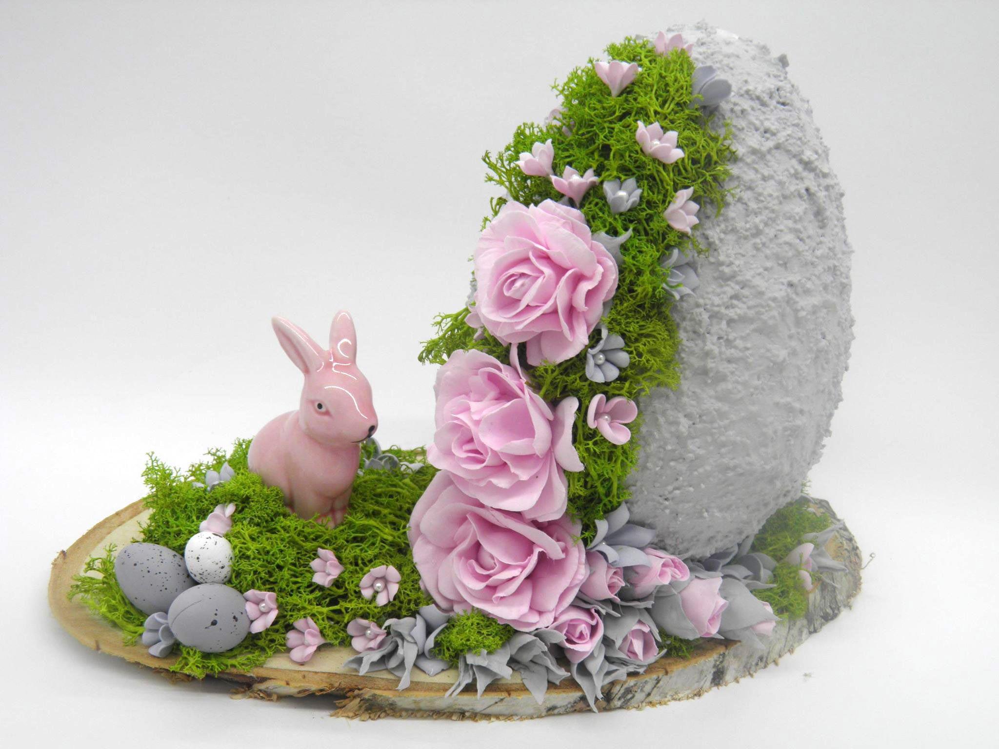 Warsztaty Z Foamiranu Jajko Kwiaty Z Foamiranu Ozdoby Easter Centerpieces Easter Crafts Easy Diy Christmas Gifts