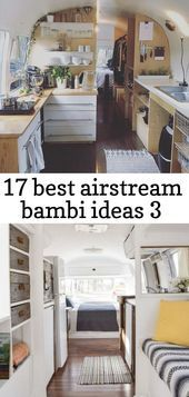 Photo of 17 best airstream bambi ideas 3 #Airstream #bambi #Ideas #Wohnwagen etagenbett b…