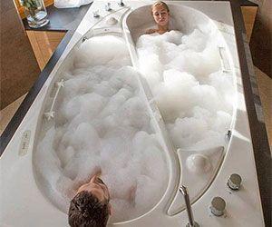 Take My Money - Yin Yang Couples Bathtub http://www.thisiswhyimbr...