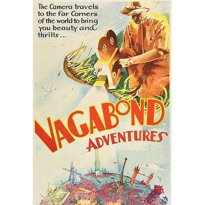 Buyenlarge 'Vagabond Adventures' Vintage Advertisement