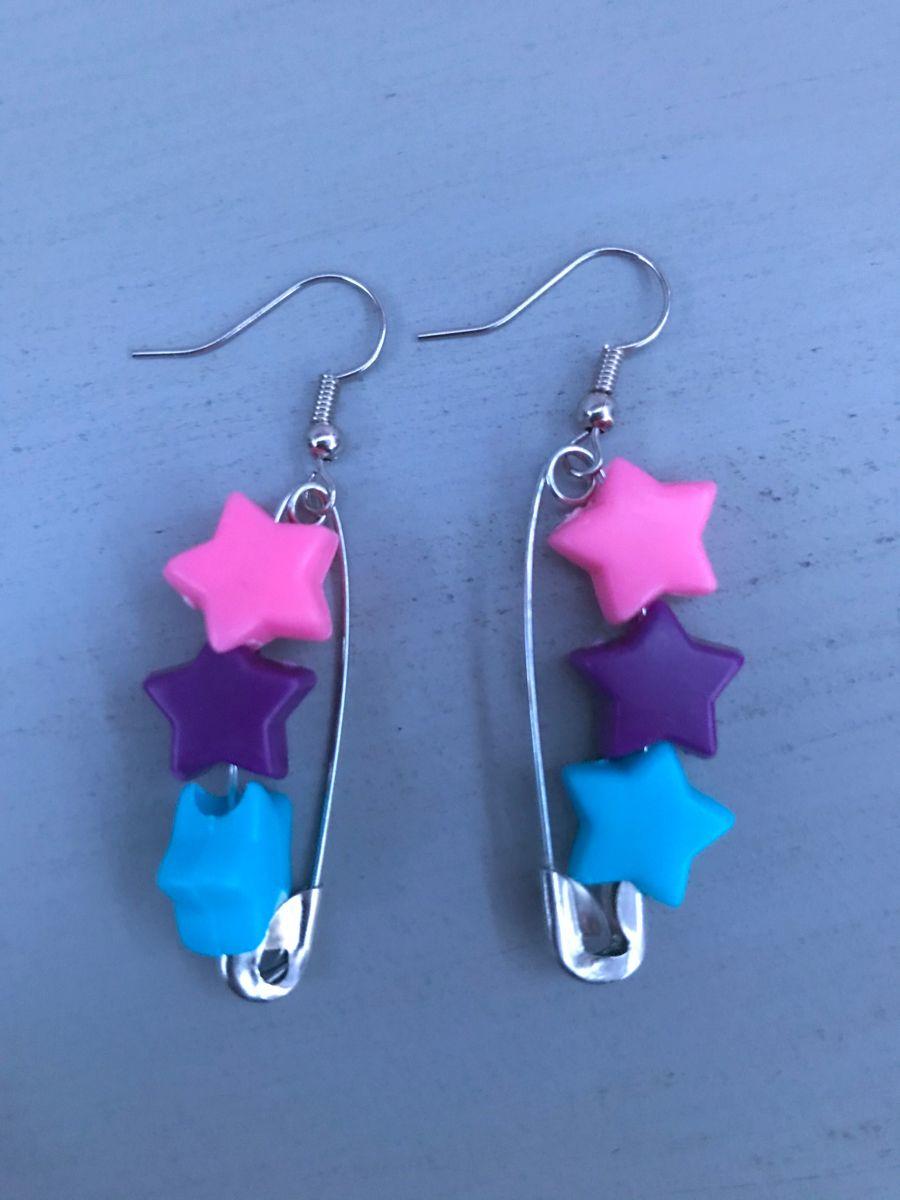 Gay Earrings LGBT Pride Earrings Bi Earrings Rainbow Earrings Trans Earrings Safety Pin Earrings