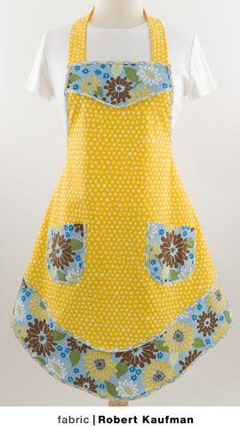 Waist Apron Pattern | Patterns Gallery | aprons | Pinterest ...