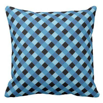 Blue Diagonal Stripe Pattern